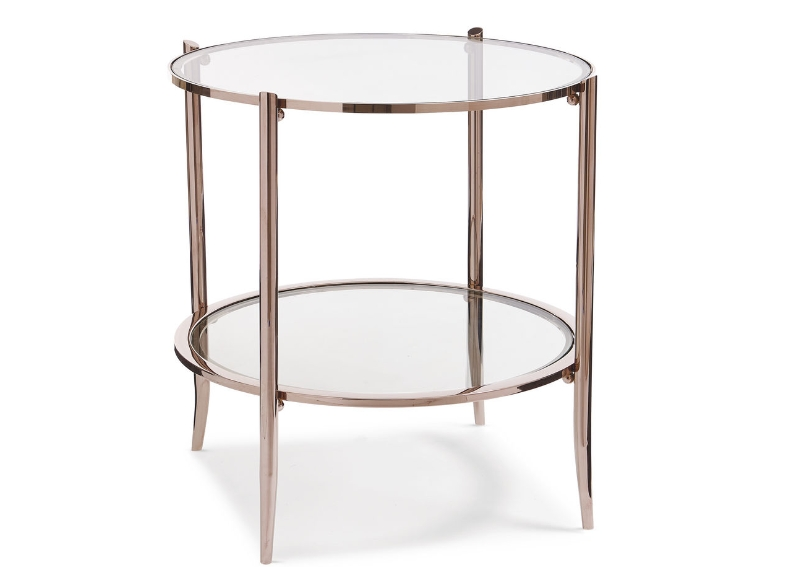At First Blush Side Table
